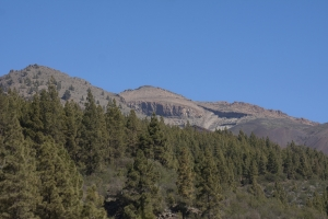 Blick auf die Berge im Teide Nationalpark