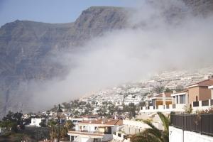 Calima - Nebel über Los Gigantes