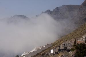 Calima - große Wolken ziehen tief