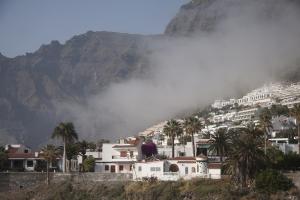 Calima - Nebel vor Los Gigantes