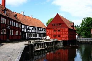 Juli - Besuch in Aarhus