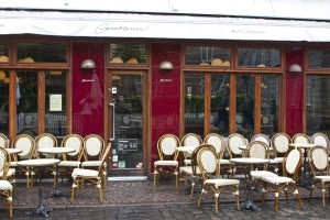 verwaiste Cafés