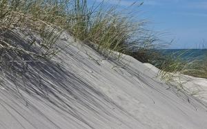 Dünen Strand und Meer