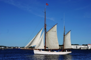 Segelschiff Jens Krog auf dem Limfjord