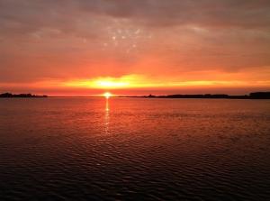 Sonnenuntergang Limfjord