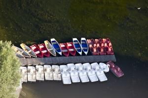 Boote auf dem See