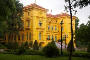 Regierungsviertel mit Prachtbauten