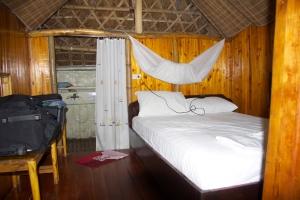 eine Hütte für eine Nacht