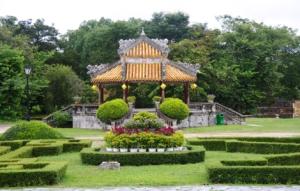 Häuser und Gärten in der Zitadelle