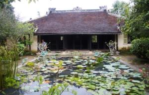 Gartenhaus mit See