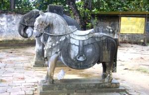 Steinernes Pferd