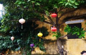 Hoi An - Lampions in den Straßen
