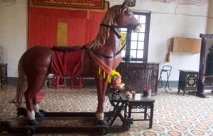 Hoi An - Pferd in Pagode