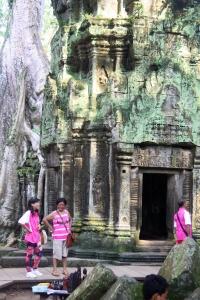 Touristen aus aller Welt bestaunen das Weltkulturerbe