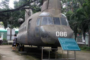 War Remnants Museum Saigon - Shinouk Helicopter