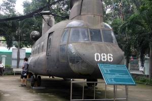 War Remnants Museum Saigon - Shinouk Helicopter