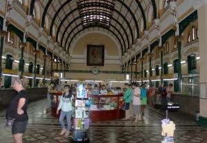 Saigon - Hauptpostamt im französischen Viertel