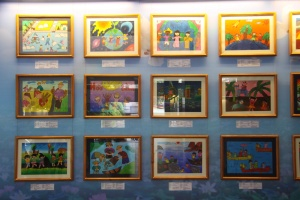War Remnants Museum Saigon - Kinderbilder für den Frieden