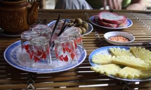 Tee mit Ananas