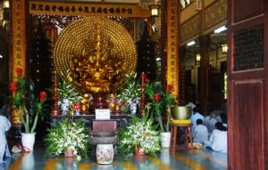 Buddha in der Pagode