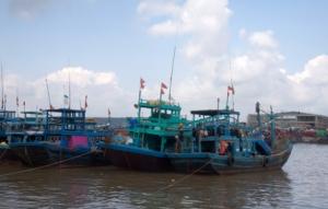 Phan Thiet - Fischerboote