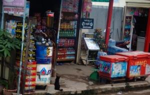 Tankstelle in Kambodia
