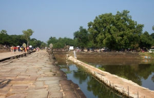 Weg nach Angkor Wat