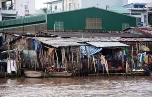 Leben am Mekongufer