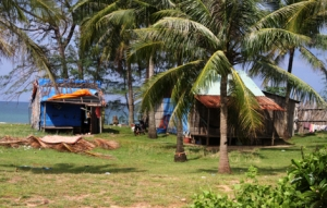 Häuser an der Küste - Phu Quoc