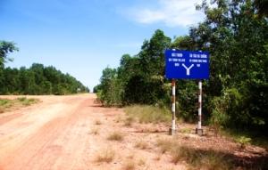 Phu Quoc - Straßenkreuzung