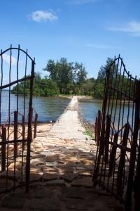 Phu Quoc - Damm zu einer einsamen Insel