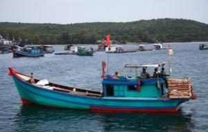 Fischerboot - An Thoi
