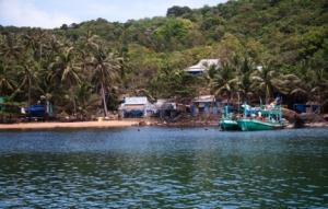 kleine Inseln vor der Südküste von Phu Quoc