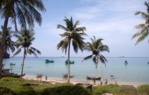 Phu Quoc - Strand im Norden