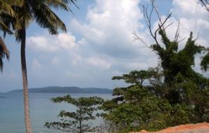 Phu Quoc - Blick auf Kambodia