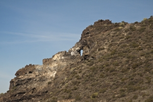Das Felsentor El Bujero im Teno Gebirge