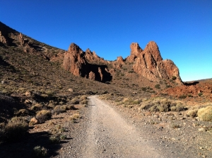 Teide Nationalpark - Weg auf den Guajara