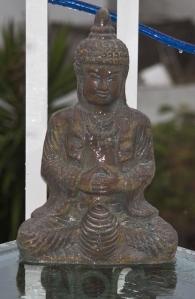 auch Buddha muss mal duschen