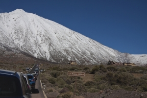 Stau am Teide