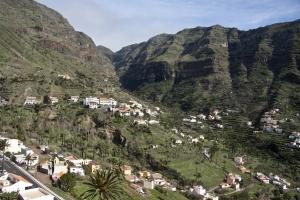 der obere Teil des Valle Gran Rey