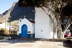 Dorfplatz im Valle - noch fast wie früher