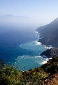 Ausblick auf die Steilküste