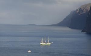 Alexander von Humboldt vor Los Gigantes
