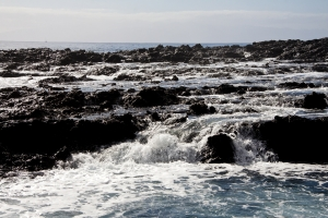 Wasser und Wellen