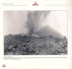 1909 - letzter Vulkanausbruch auf Teneriffa - Chinyero