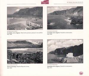 Bau des ersten Hotels in Los Gigantes 1967