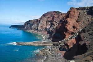 Steilküste im Süden