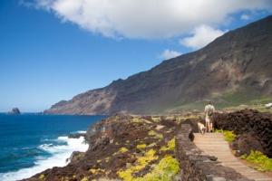 wandern an der Küste - Las Puntas