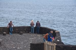 Fischer an der Westküste