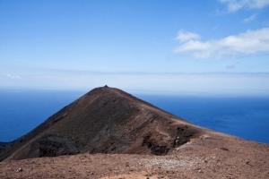 Gipfel des Vulkan Teneguía
